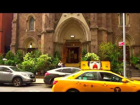 Beautiful St  John the Baptist Church New-York City