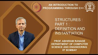 Lecture 19 : Structures : Part 1 : Definition and instantiation