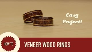 How to Make Wood Wedding Rings Quick and Easy