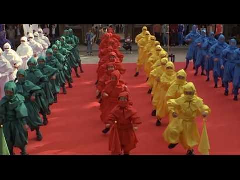3 Ninjas Kick Back - Karate Tournament Scene (1994)