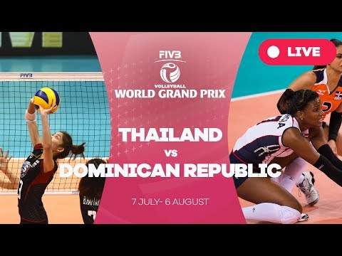 Thailand v Dominican Republic - Group 1: 2017 FIVB Volleyball World Grand Prix