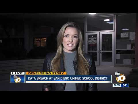 Data breach at San Diego Unified School District