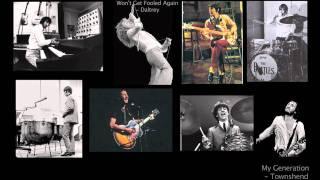 Beatles & Who Mashup (living - Paul, Pete, Roger, Ringo)