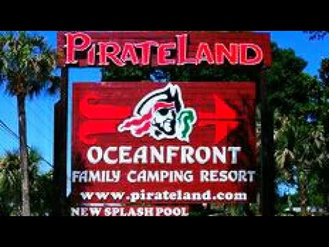 DRIVING TOUR PIRATE LAND CAMPGROUND Myrtle Beach Sc