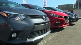 2014 Mazda3 vs Honda Civic vs KIA Forte vs Toyota Corolla Matchup Review