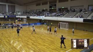 5日 ハンドボール男子 あづま総合体育館 Aコート 青森×香川中央 1回戦 1