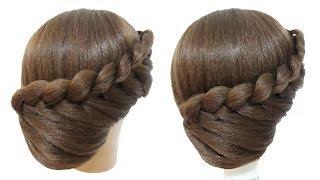 Peinados Recogidos O Chongos Coletas Con Trenzas Faciles Y Rapidos