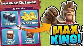"USING THIS PACK TO MAX MY KING! - TH12 Gem To Max! - ""Clash of Clans"""