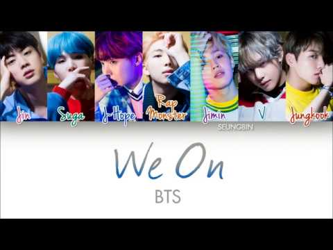 BTS(방탄소년단) 'WE ON' [Color Coded Han|Rom|Eng lyrics]