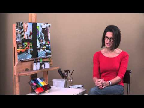 ArtistsNetwork.tv Interview with Patti Mollica