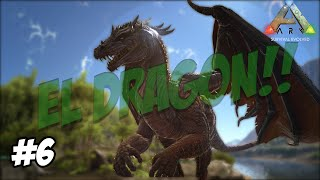 ARK: Survival Evolved |¡¡ El poder del dragón gigante!! | Survival of the Fittest