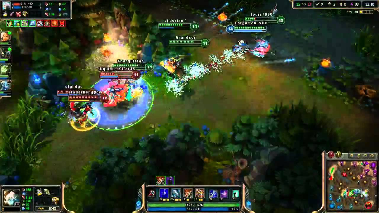 AD/Attack Damage Carry build Tristana is OP :P League of Legends season 3 -  YouTube