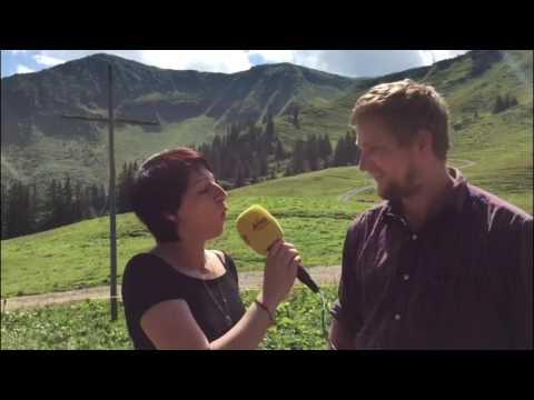 ANTENNE VORARLBERG auf der Säckel Alp in Au