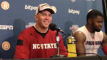 Listen to NC State's Dave Doeren's comments after the Wolfpack's victory in the Bitcoin Bowl