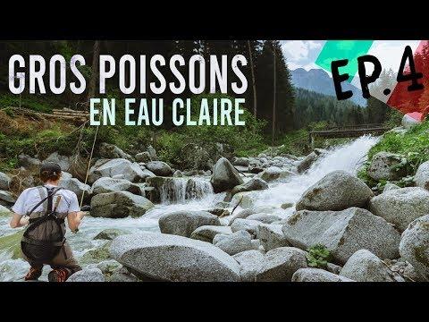 GROSSES TRUITES En Eau Claire - Alps Fishing Tour Ep4 - Italie