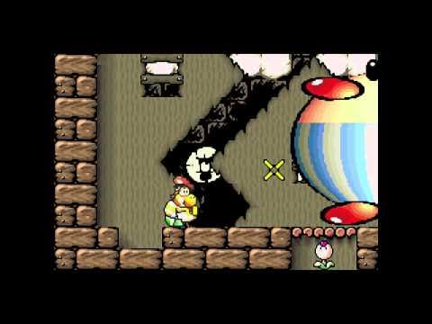 Yoshi's Island Boss 1 - Burt the Bashful