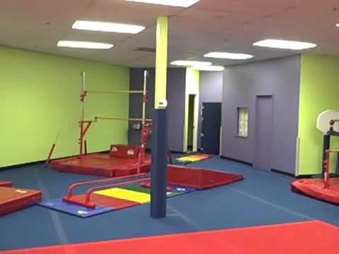 Puyallup little gym interior prep paint project