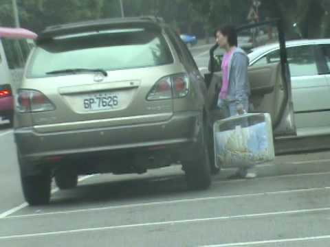 Irresponsible parking  in Taiwan - (2) 台灣人的停車習慣 二