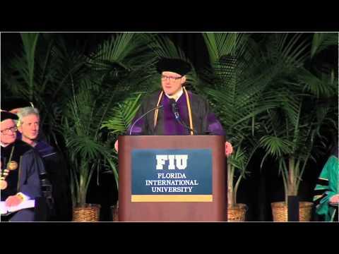 Daniel Horton - FIU Law Commencement Ceremony 2015