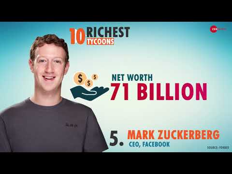 These are the world's 10 richest people in 2018, says Forbes