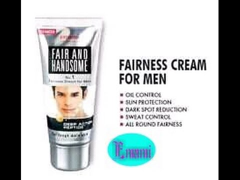 Emami Fair And Handsome Fairness Cream For Men (sample) Review Hindi