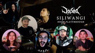 Edan! Reaksi Mereka Melihat Oki Fadhlan - Jasad - Siliwangi. Another Incredible Indonesian Drummer