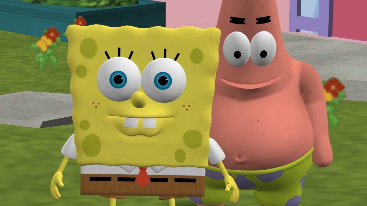The Simpsons Hit & Run - SpongeBob and Patrick Rehydrated Mod