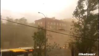 Мощный шквал в Москве Ураган в Москве, 29 05 2017