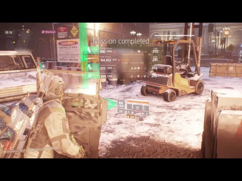 The Division Grand Central Station Legendary Solo