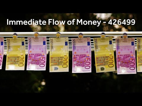 Immediate Flow of Money - 426499 - Grabovoi Numbers