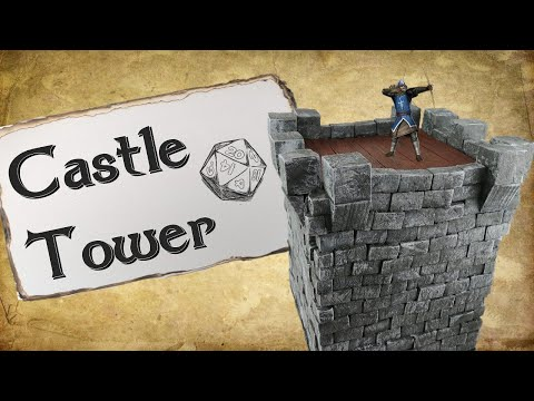 How to Make a Castle Tower for D&D