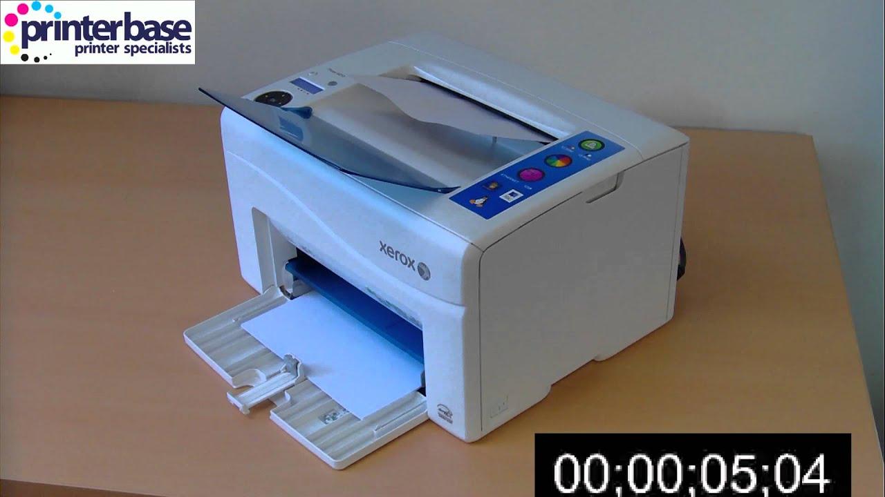 Скачать драйвер на принтер ксерокс фазер 3130
