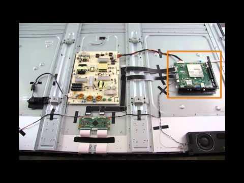 Vizio E701IA3 & E701IA3E TV Repair Kit  How to Replace the Tcon, Main and Power Supply Board