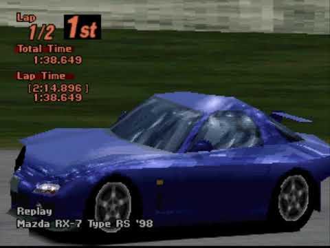 Gran Turismo 2 Arcade - Grand Valley Speedway Reverse