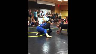 Super fight LELEO code Bjj nationals GBK TapOut Queen Elena Rodriguez  vs Kelly crouch video 1 of 2