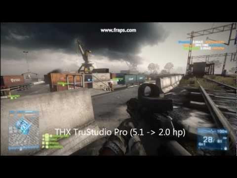 THX vs. Dolby vs. CMSS-3D headphone sound in Battlefield 3