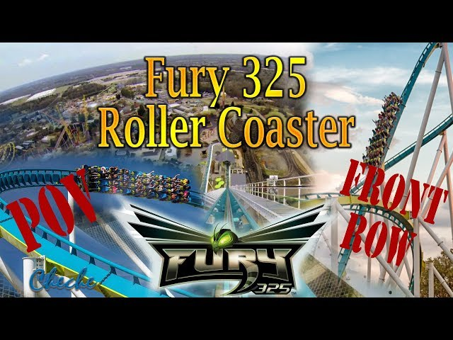 ON RIDE Fury 325 Roller Coaster | Fury 325 Front Seat POV 2019 HD 🎞️
