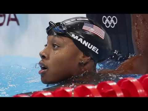 MANUEL MAKES HISTORY| First African-American woman to medal in swimming