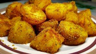 Ароматный хрустящий картофель в духовке!