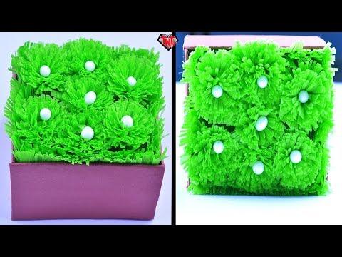 How To Make Grass With Fabric Bags Easy | DIY Home Decor Idea | Easter Basket Grass