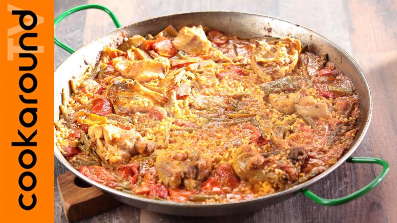 paella valenciana casalinga ricette etniche sfiziose