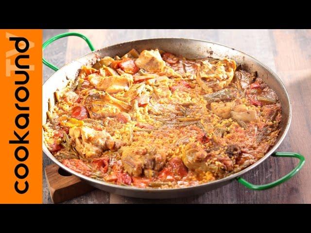 Paella valenciana casalinga / Ricette etniche sfiziose