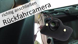 Rückfahrkamera richtig anschließen am Seat Alhambra /  Sharan  (zuschauerfrage)