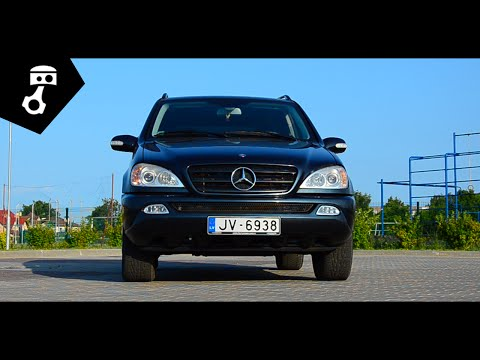 Mercedes Benz ML 270 CDI (W163) Тест-драйв; zhmuraTV