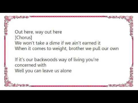 Josh Thompson - Way out Here Lyrics