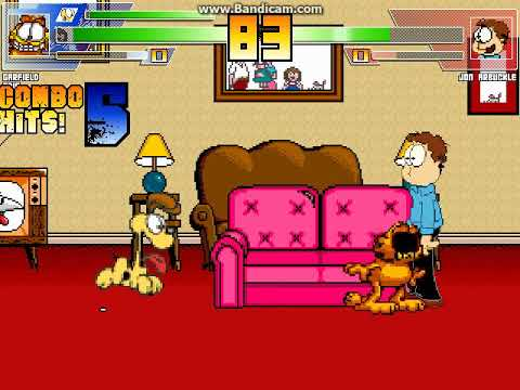Mugen Battle 1770 Garfield Odie Vs Jon Arbuckle Youtube