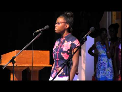 Montserrat Secondary School Commonwealth Day 2015