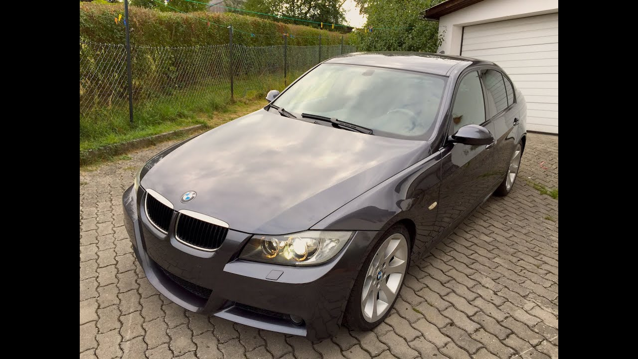 bmw 320d m paket e90 gopro hero 4 black hd youtube