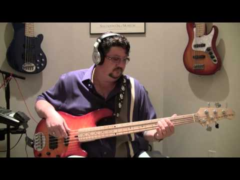 """Brian Slayton 38 Special - """"Hold On Loosely"""" Bass Cover"""