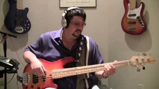 "Brian Slayton 38 Special - ""Hold On Loosely"" Bass Cover"